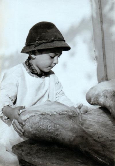 La passione si vede sin da bambini: Angelo Coradazzi