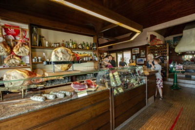 L'ingresso dell'Osteria al Baccaro, vi aspettiamo!
